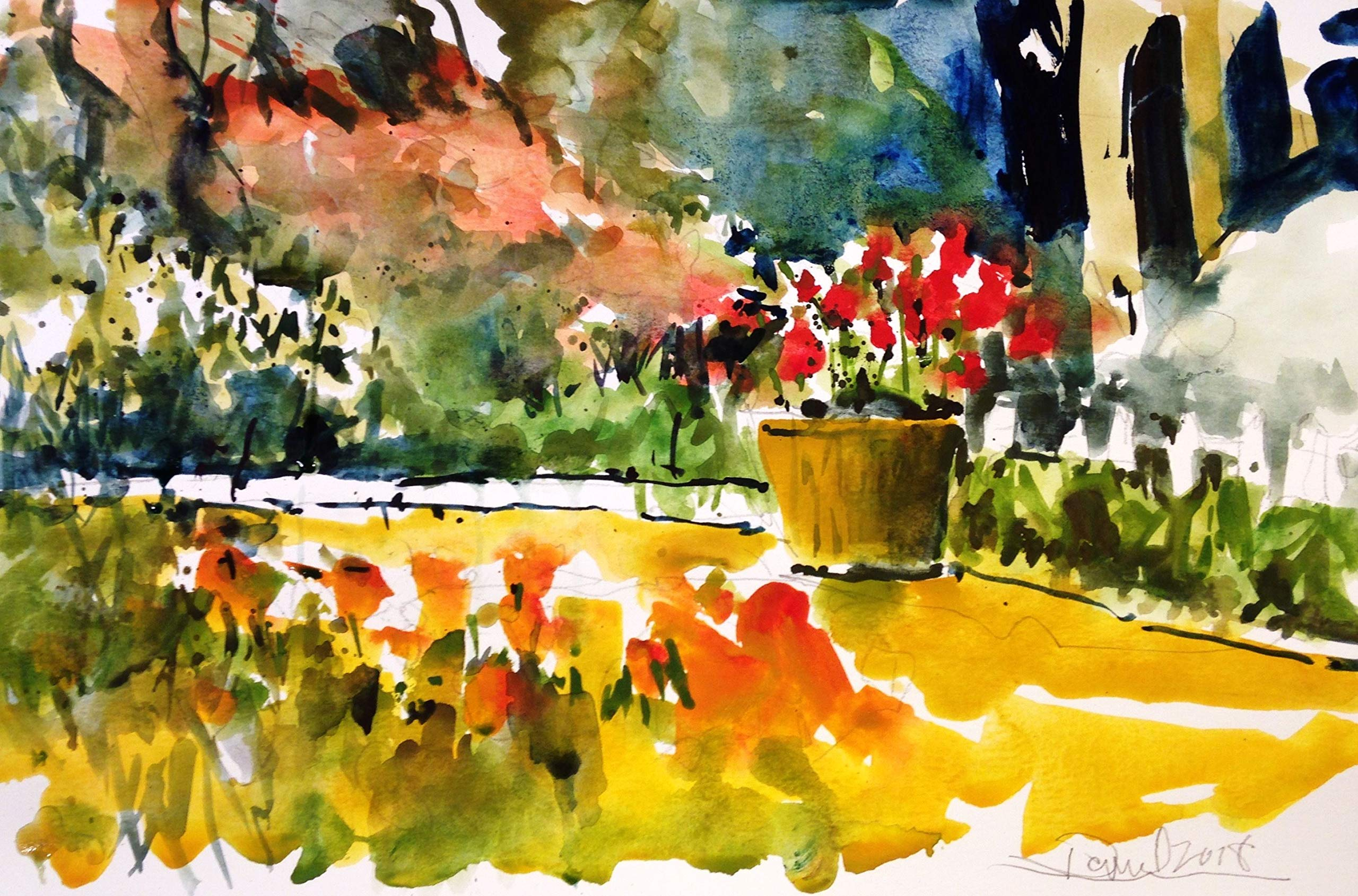 Butchart Gardens Back 40 by