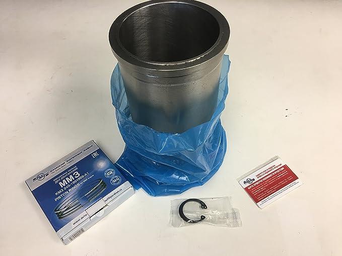 Amazon.com: YUM-6 Engine Kit Piston/Camisa, Piston, Aros-Pasador Tractor YUM_6: Automotive