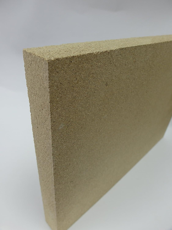Planchas 2 cm vermiculita y paleta de reemplazo y paleta de piedra