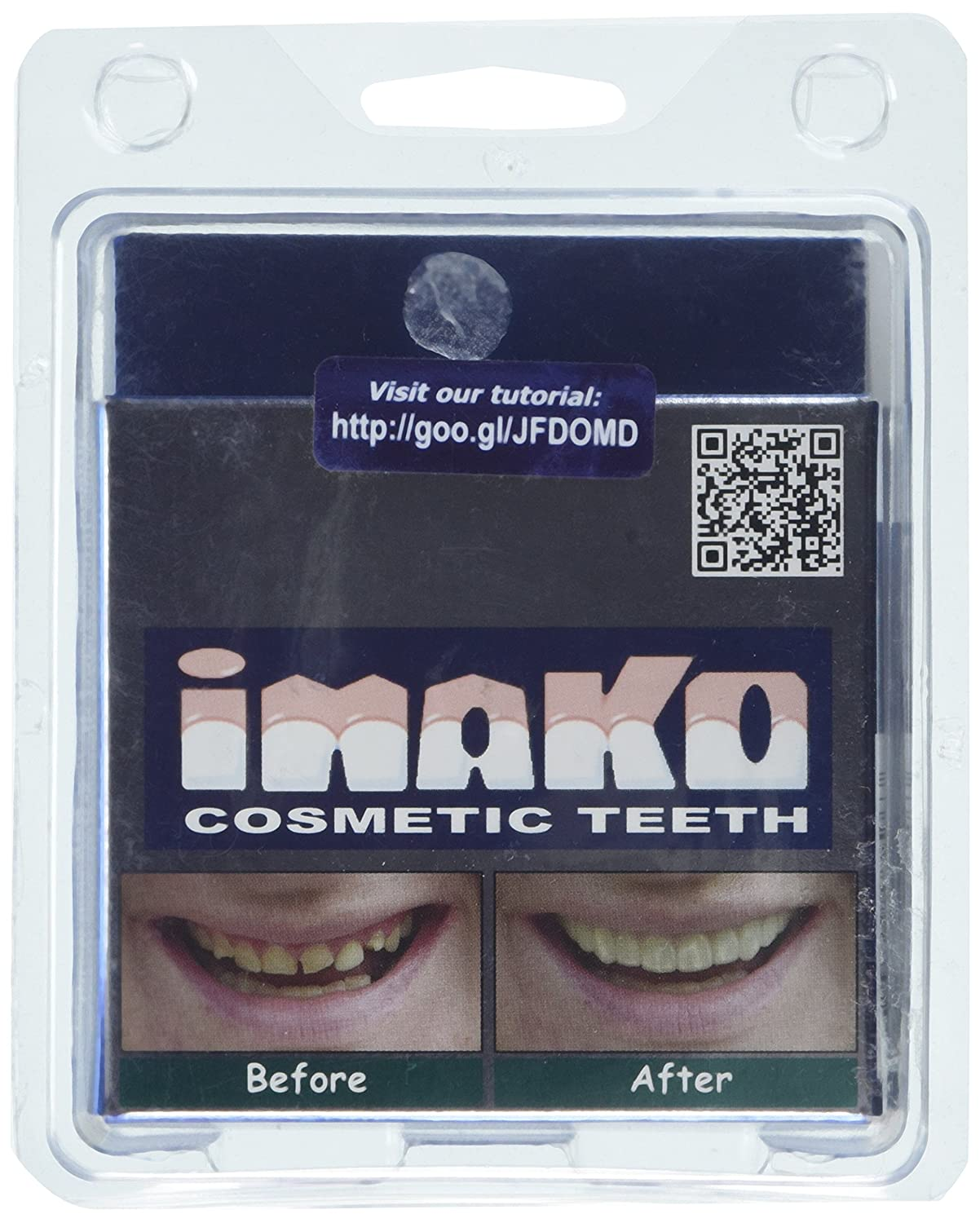 Amazon Imako Cosmetic Teeth 1 Pack Small Natural Uppers