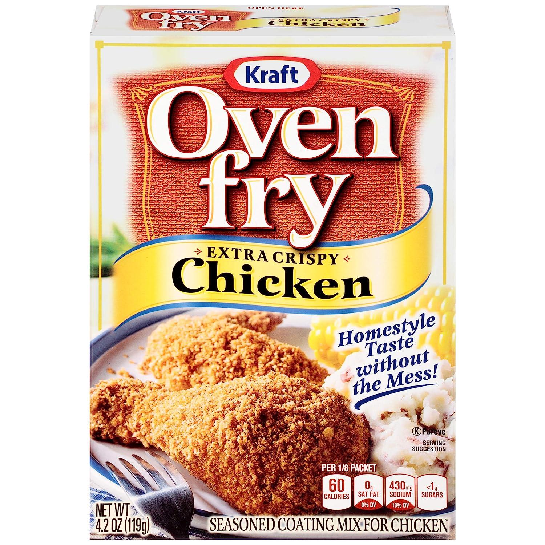 Oven Fry Extra Crispy Seasoned Coating Mix, 4.2 Oz Box