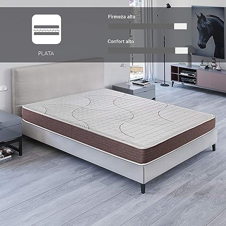 ROYAL SLEEP Colchón viscoelástico 135x190 de máxima Calidad, Confort, adaptabilidad y firmeza Alta,