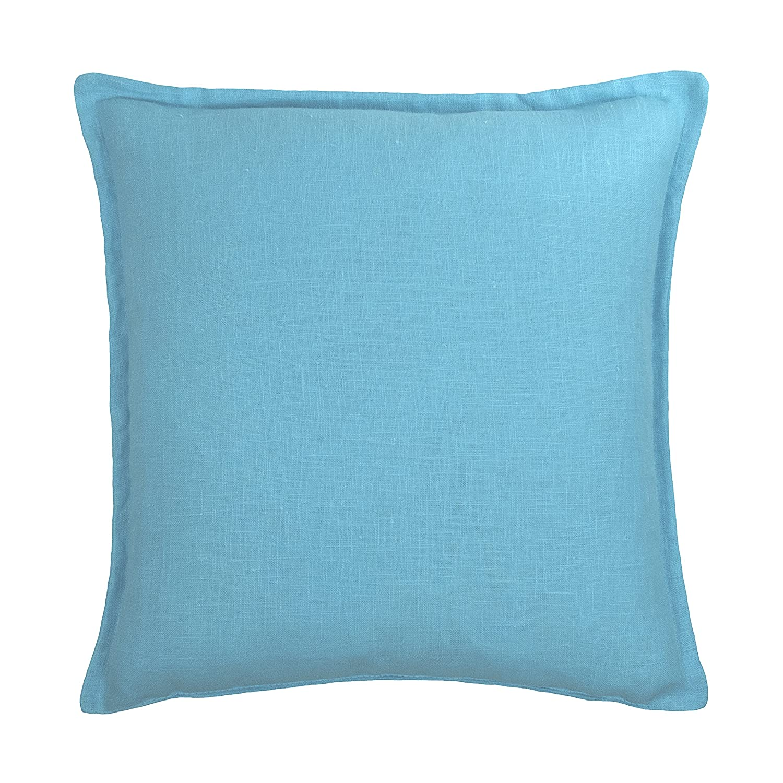 Sherry Kline Frisco Linen Decorative Pillow 20' x 20' Dark Blue