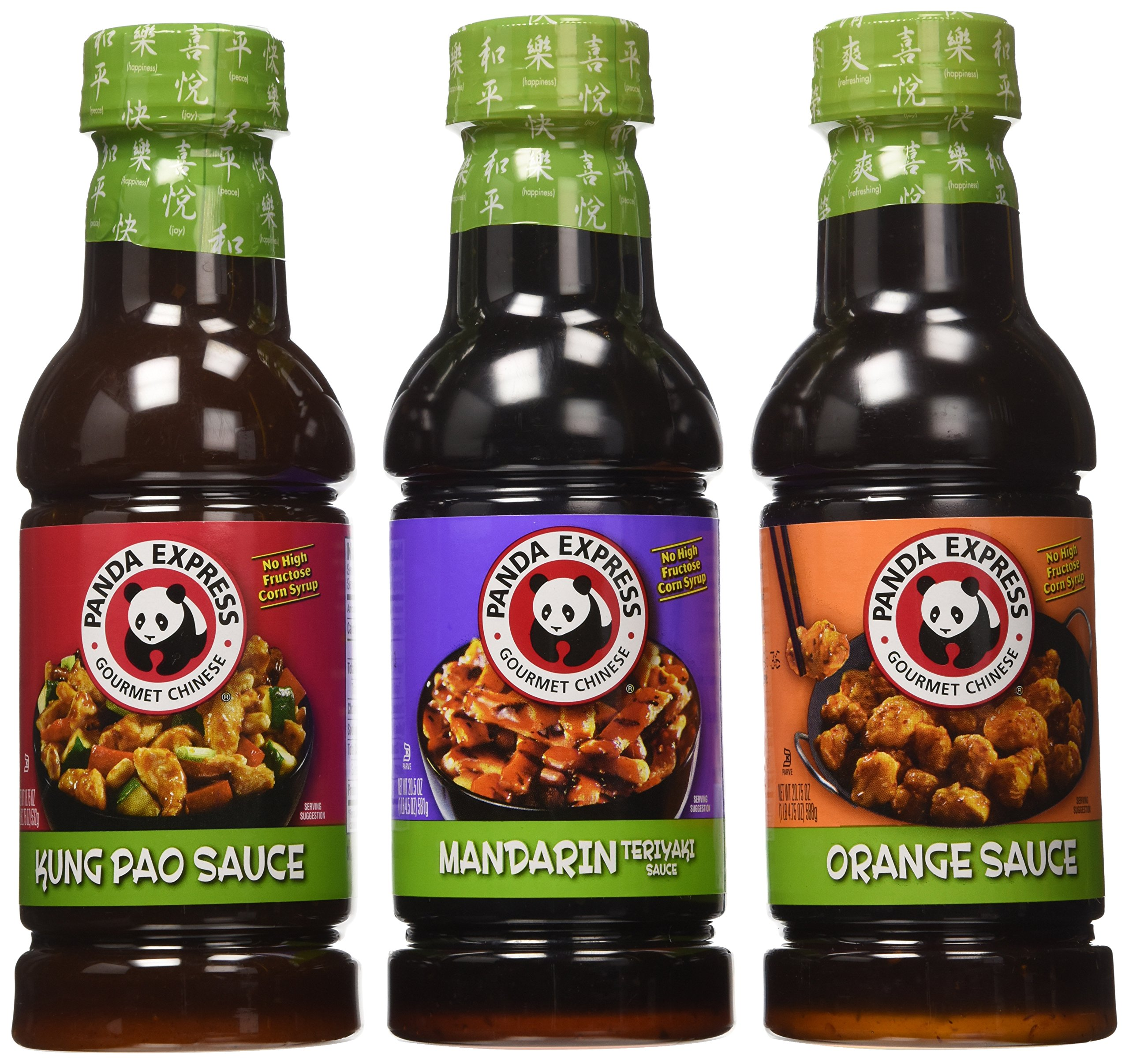 Panda Express, Variety Sauce Package, 20.5oz Bottle (Pack of 3 Flavors)