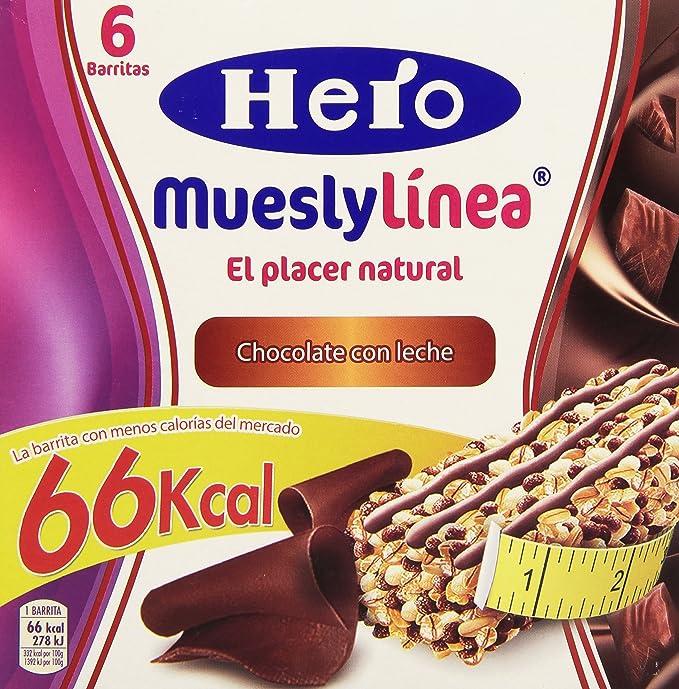 Hero muesly linea chocolate 6x20g - [pack de 5]