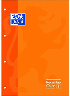 Oxford 100103017 - Recambios (80 hojas A4)