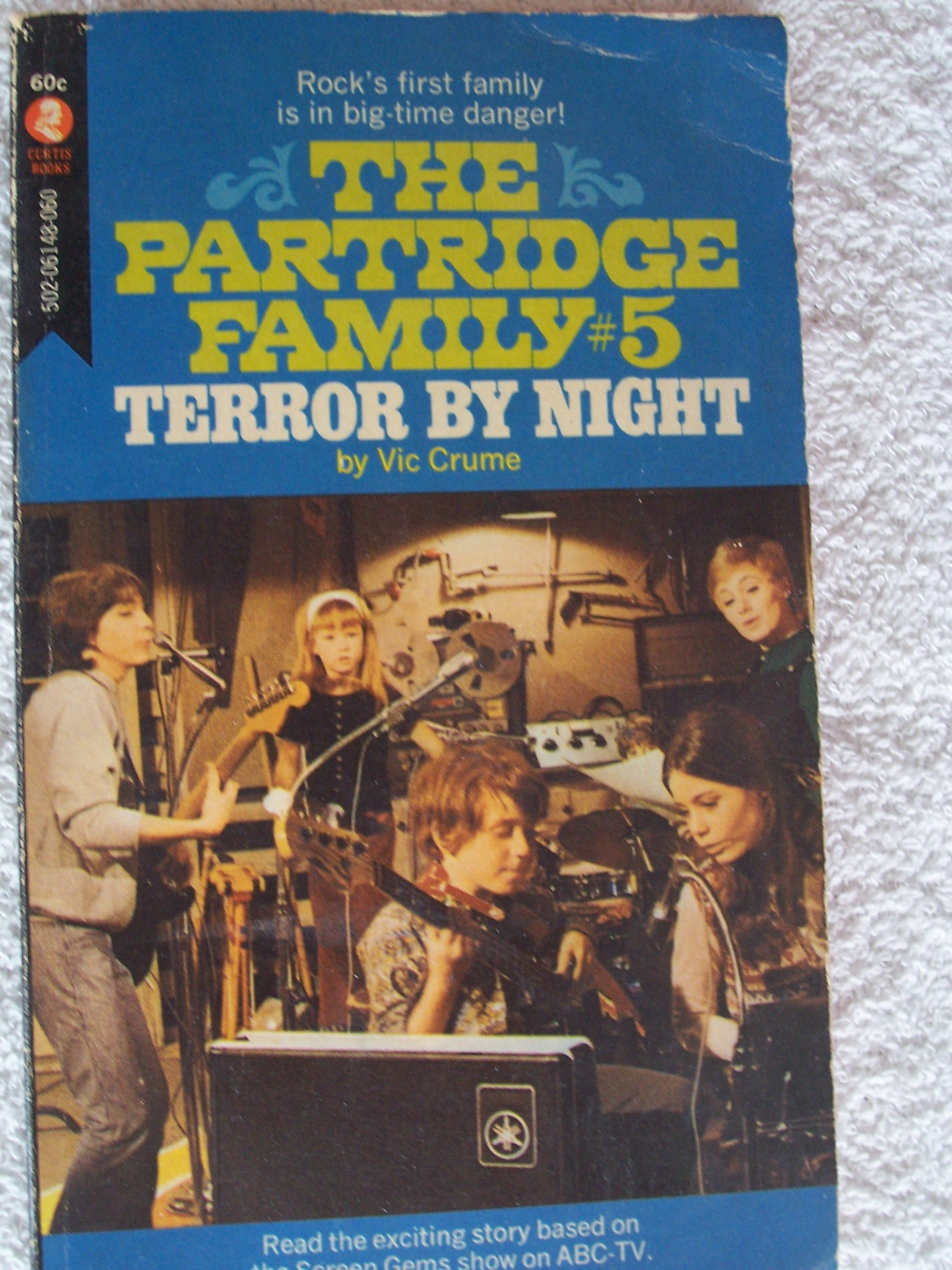 Terror by Night The Partridge Family #5, Crume, Vic