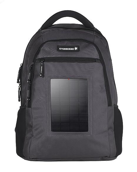 fccfd4f616 Crosskase - Zaino con celle solari per PC portatili e tablet da 38,1 ...
