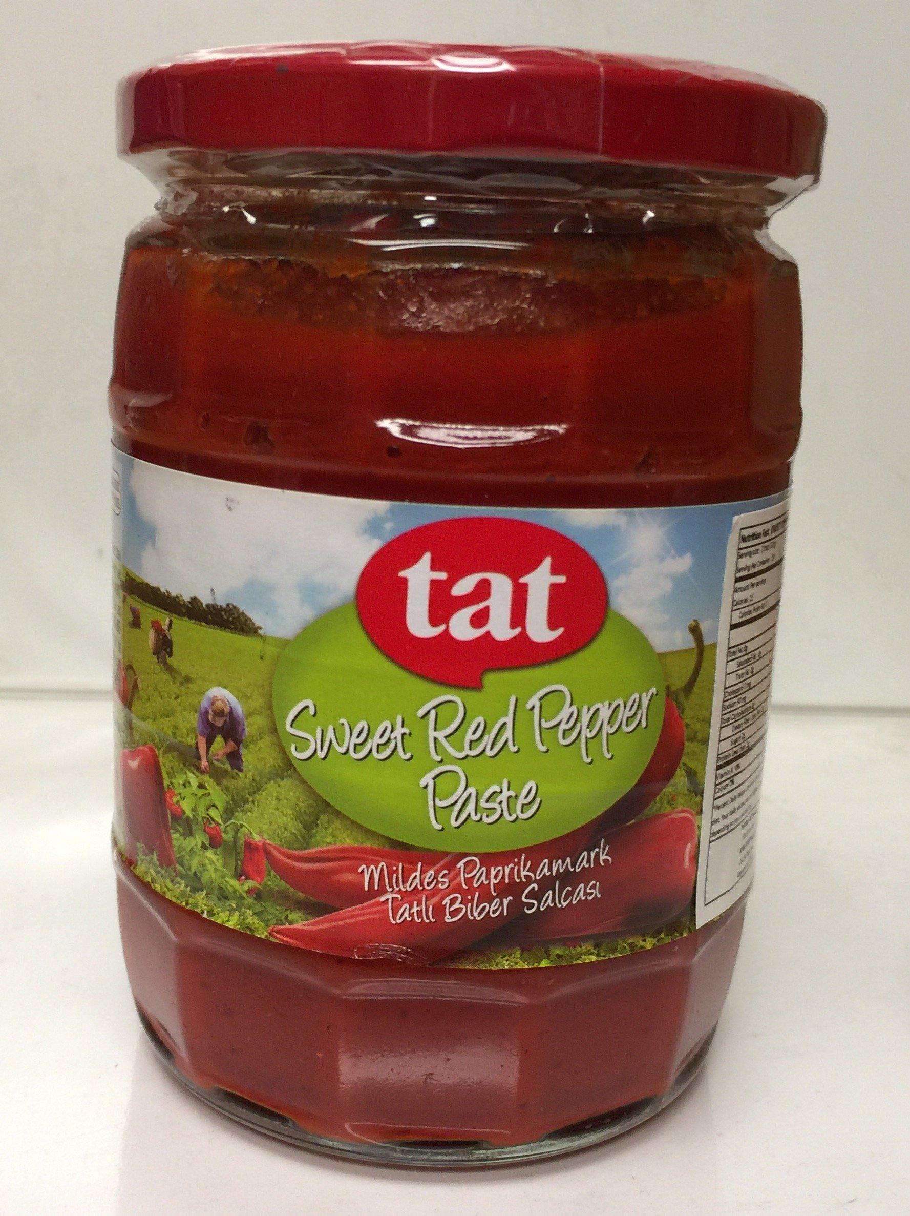 Tat Sweet Red Pepper Paste (Tatli biber salcasi) -550 Gr