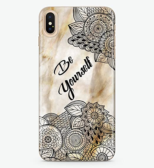 new arrival 2e6be c05f2 Amazon.com: Hanogram Marble Lace, Slim & Flexible Soft Case ...