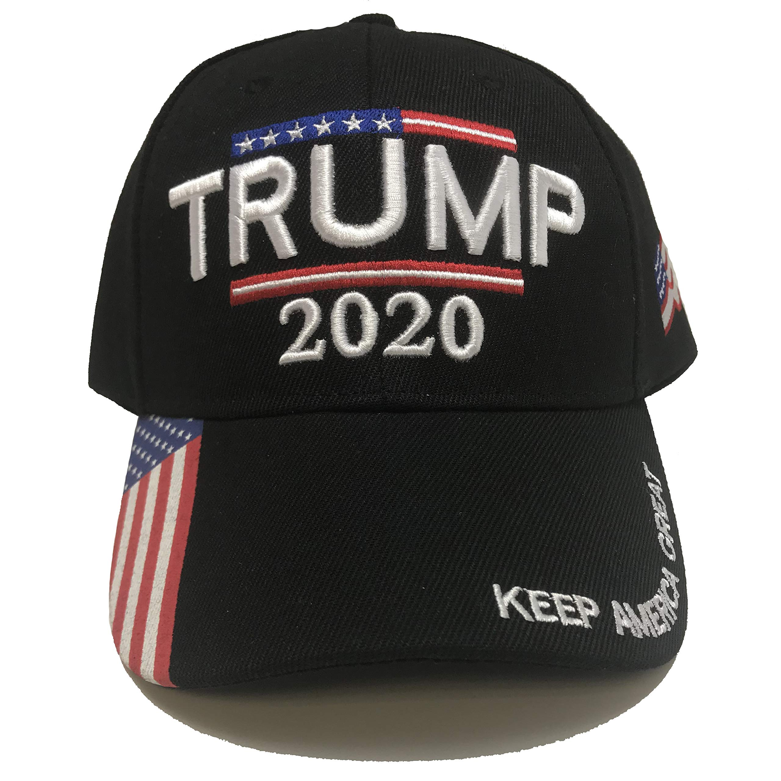 Trump 2020 Hat – Keep America Great 3D Embroidery American Flag Donald Trump MAGA Baseball Cap