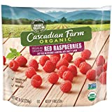Cascadian Farm Organic Red Raspberries, 8oz Bag