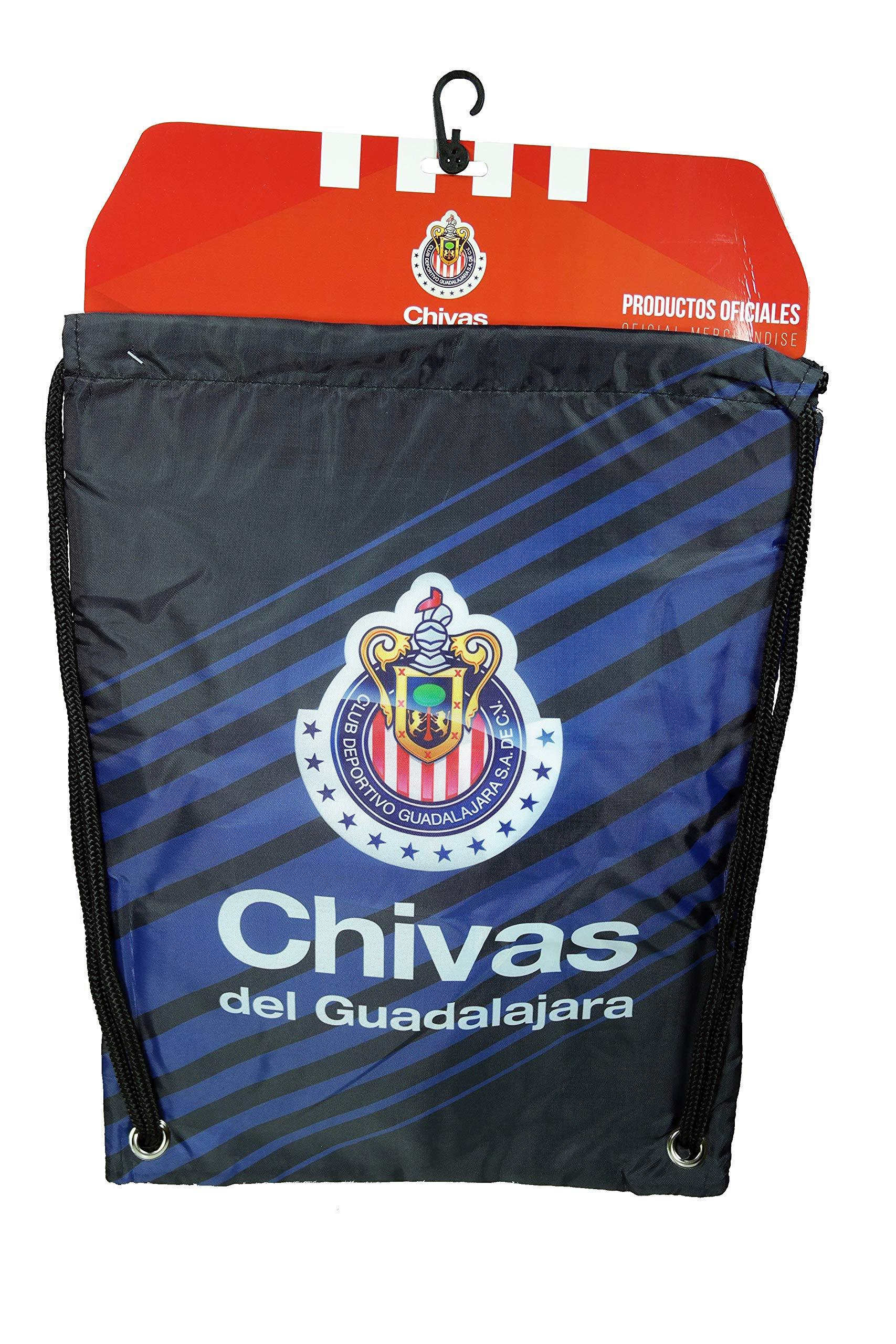 Chivas De Guadalajara Authentic Official Licensed Soccer Drawstring Cinch Sack Bag 03-3
