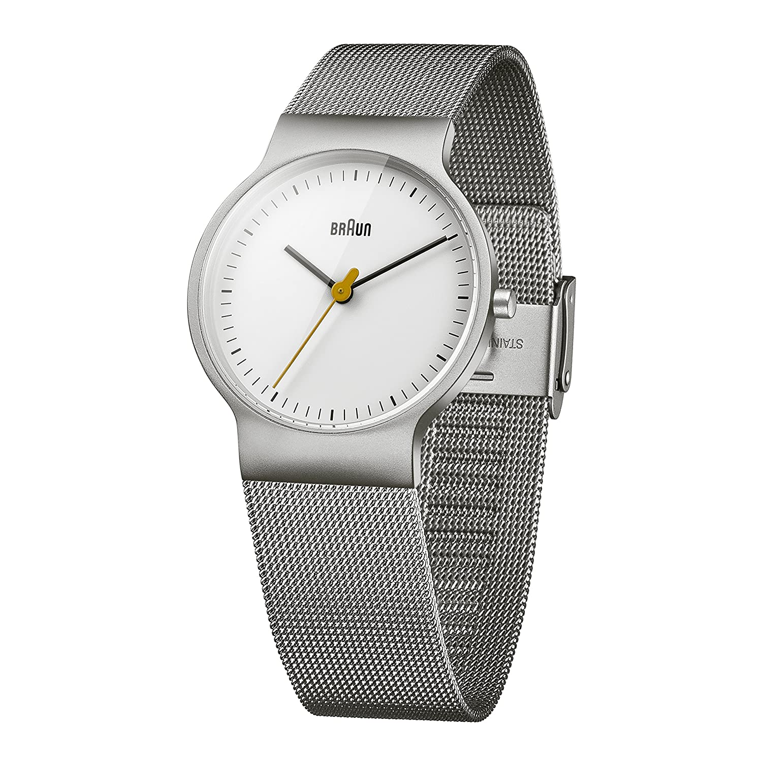 Braun Women\'s Quartz Watch with White Dial Analogue Display and ...