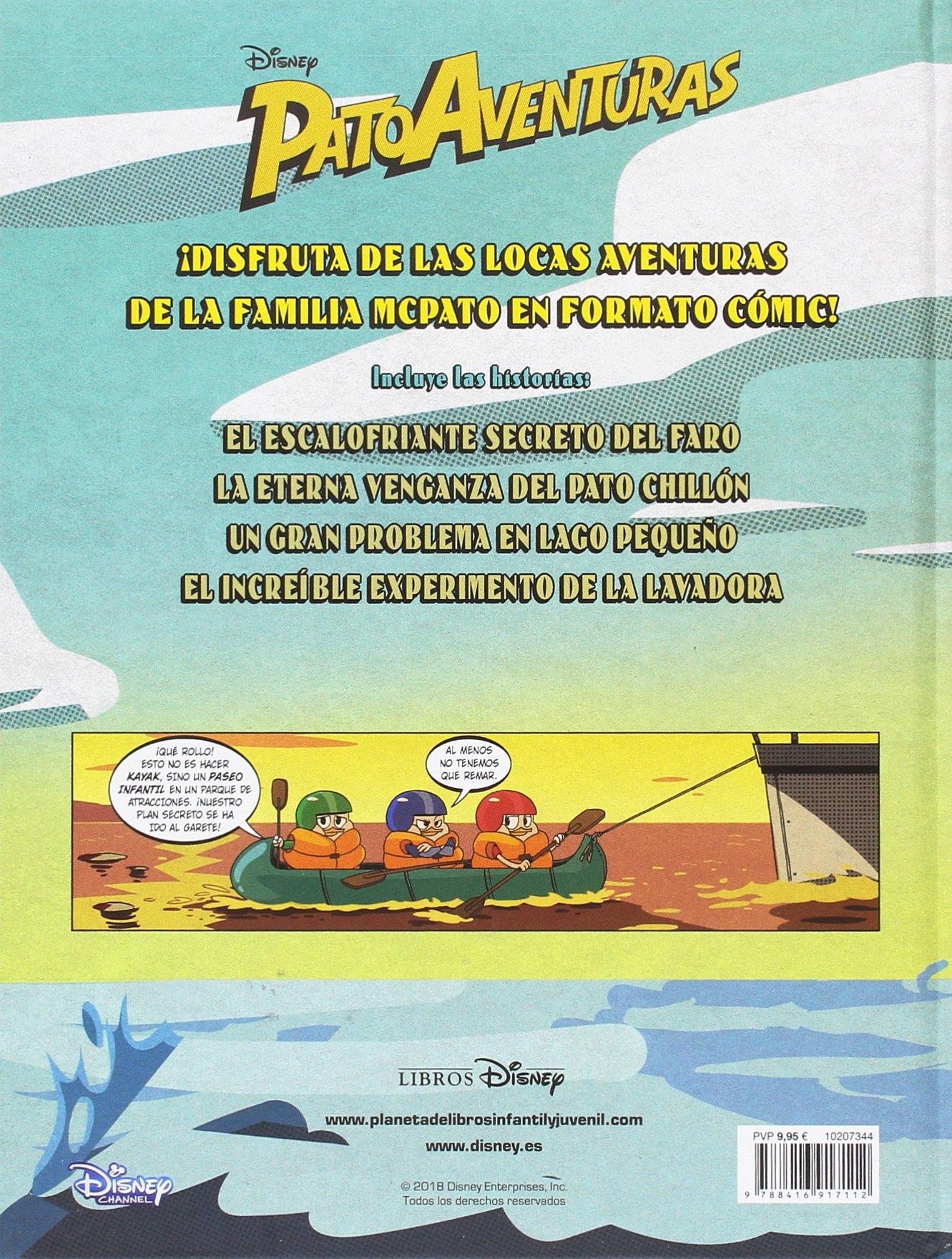 Patoaventuras 1: Cómic (Disney. Patoaventuras): Amazon.es: Disney, Editorial Planeta S. A.: Libros