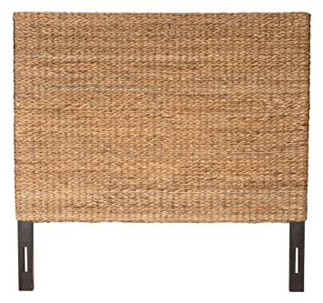 Captivating Jeffan International Abaca Weave Headboard, Queen