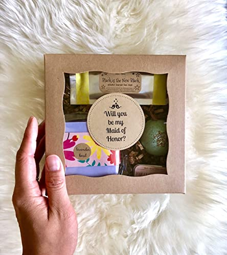 a52558e36b1 Amazon.com  Will You Be My Maid of Honor Gift Box with Card  Handmade
