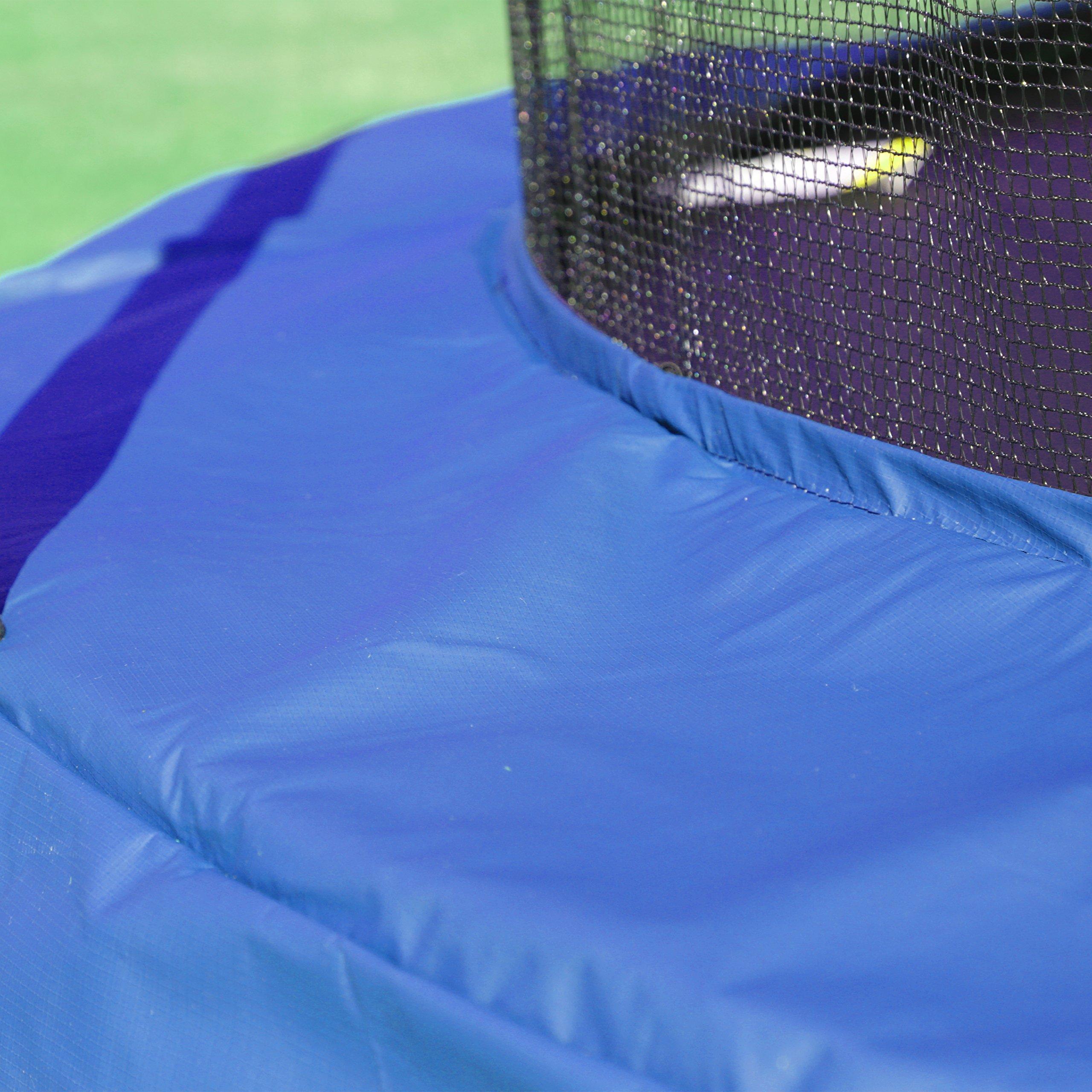 Skywalker Trampolines 10 -Foot Round Trampoline and Enclosure with spring, Blue by Skywalker Trampolines (Image #8)