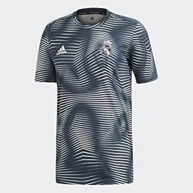 adidas Real Madrid Preshirt 2018-2019 - Camiseta de Manga Corta para Hombre