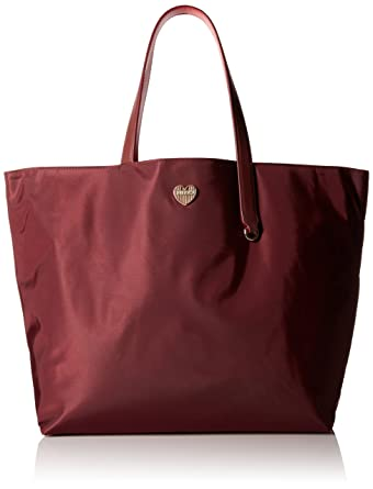 Tote Bag On Sale, Ruby Red, Leather, 2017, one size Furla