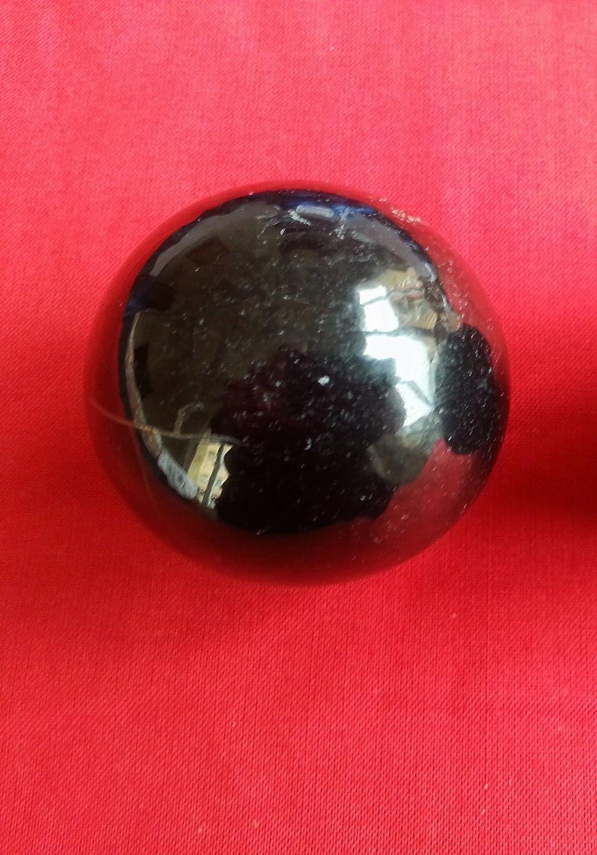 Shungite polished sphere dream ball healing crystal from Russia gems gemstone Crystal Dreams