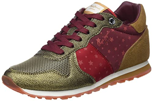 Pepe Jeans Verona W World, Zapatillas para Mujer: Amazon.es: Zapatos y complementos