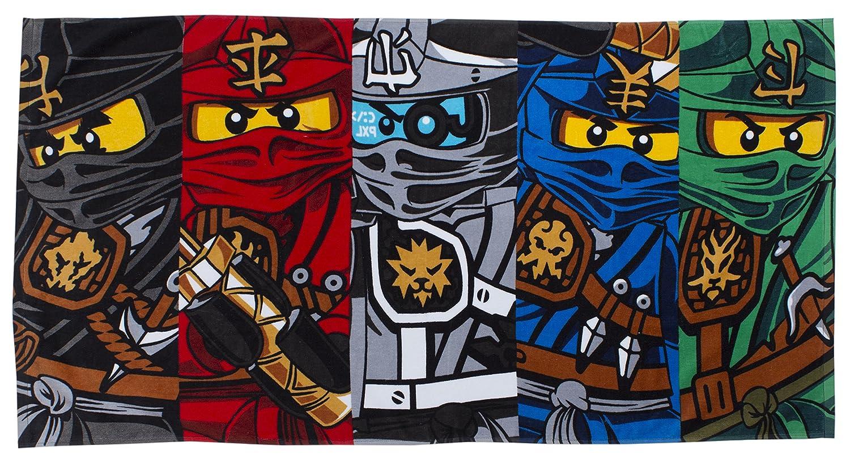 Lego Ninjago 'Warrior' Asciugamano Character World uk home CDKH4 LG6WAITW001UK