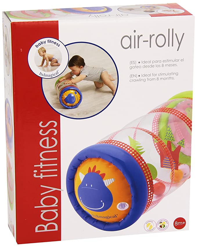 itsImagical - Baby Fitness Air-Rolly, Hinchable sonajero para Bebes (Imaginarium 59149)