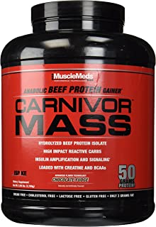 Amazon.com: MuscleMeds Carnivor Beef Protein Isolate Powder ...