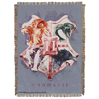 Harry Potter Houses Together Throw Blanket, 48  x 60