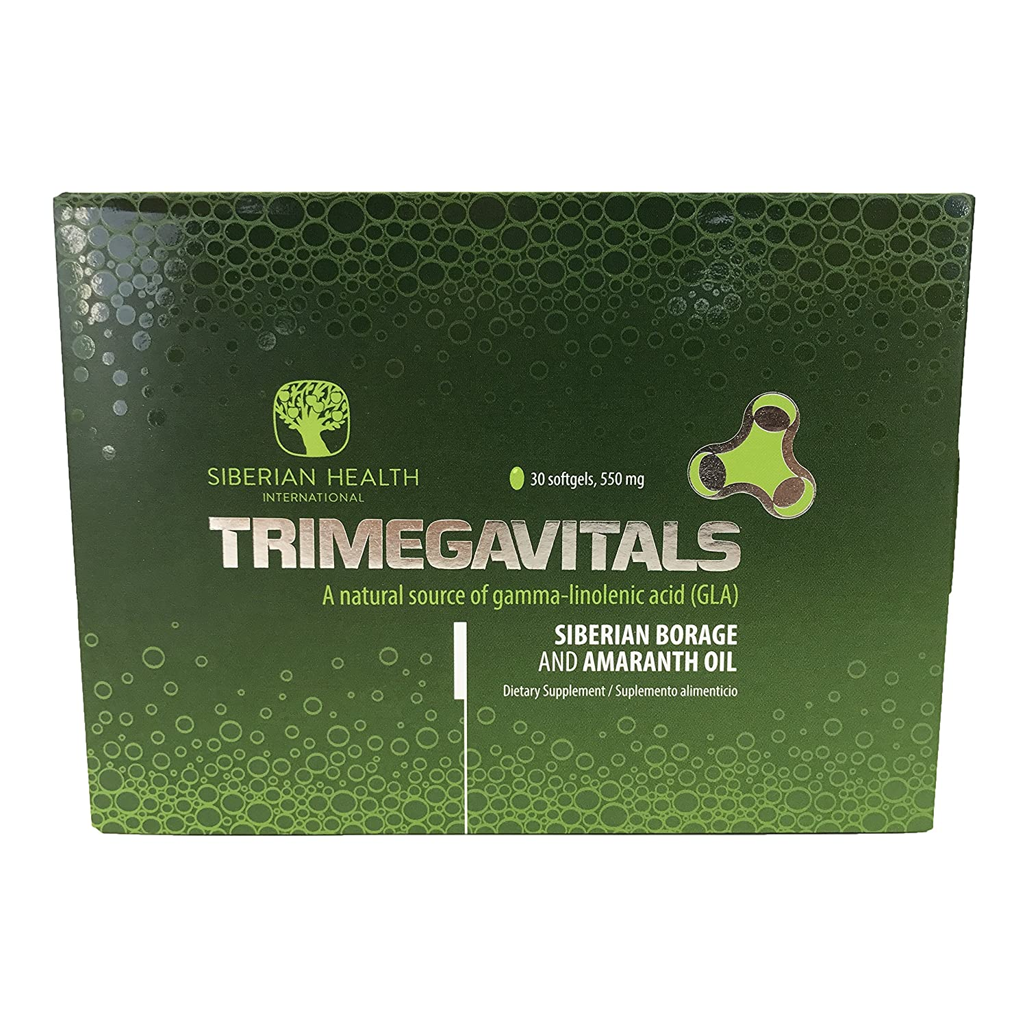 Amazon.com: TRIMEGAVITALS. Siberian Borage & Amaranth (30CAP) (Gelatin Cap): Health & Personal Care