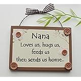 Nana Humorous wooden keepsake gift