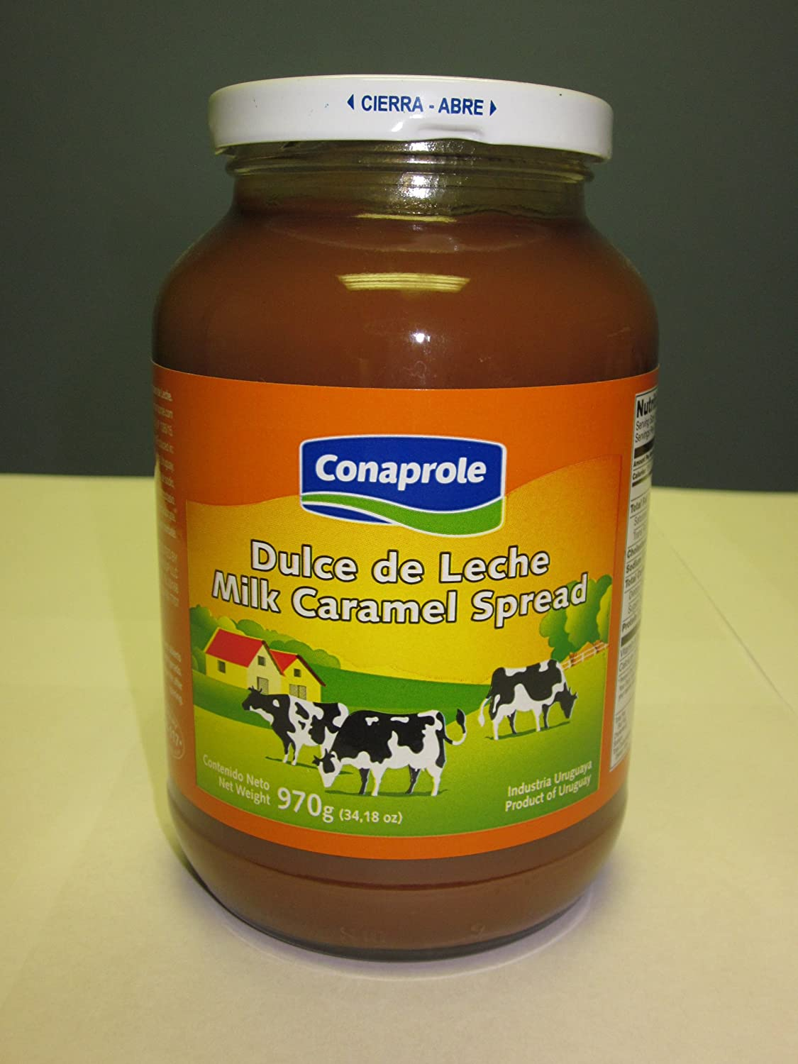 Amazon.com : DULCE DE LECHE CONAPROLE 970g (Set of 3) $28.50 : Dessert Toppings : Grocery & Gourmet Food