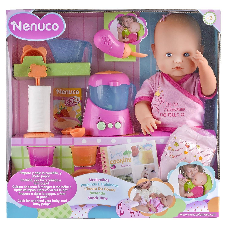 ac7dd11d8 Amazon.es: Nenuco 700013300 - Merienditas, muñeca con accesorios: Juguetes  y juegos