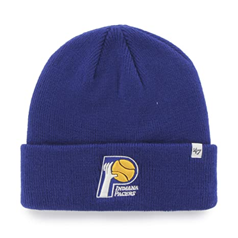 good service hot new products high quality Buy NBA Indiana Pacers '47 Raised Cuff Knit Hat, Royal, One Size ...