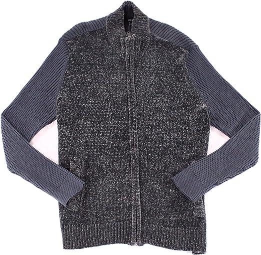 Alfani Mens Chenille Cardigan Sweater