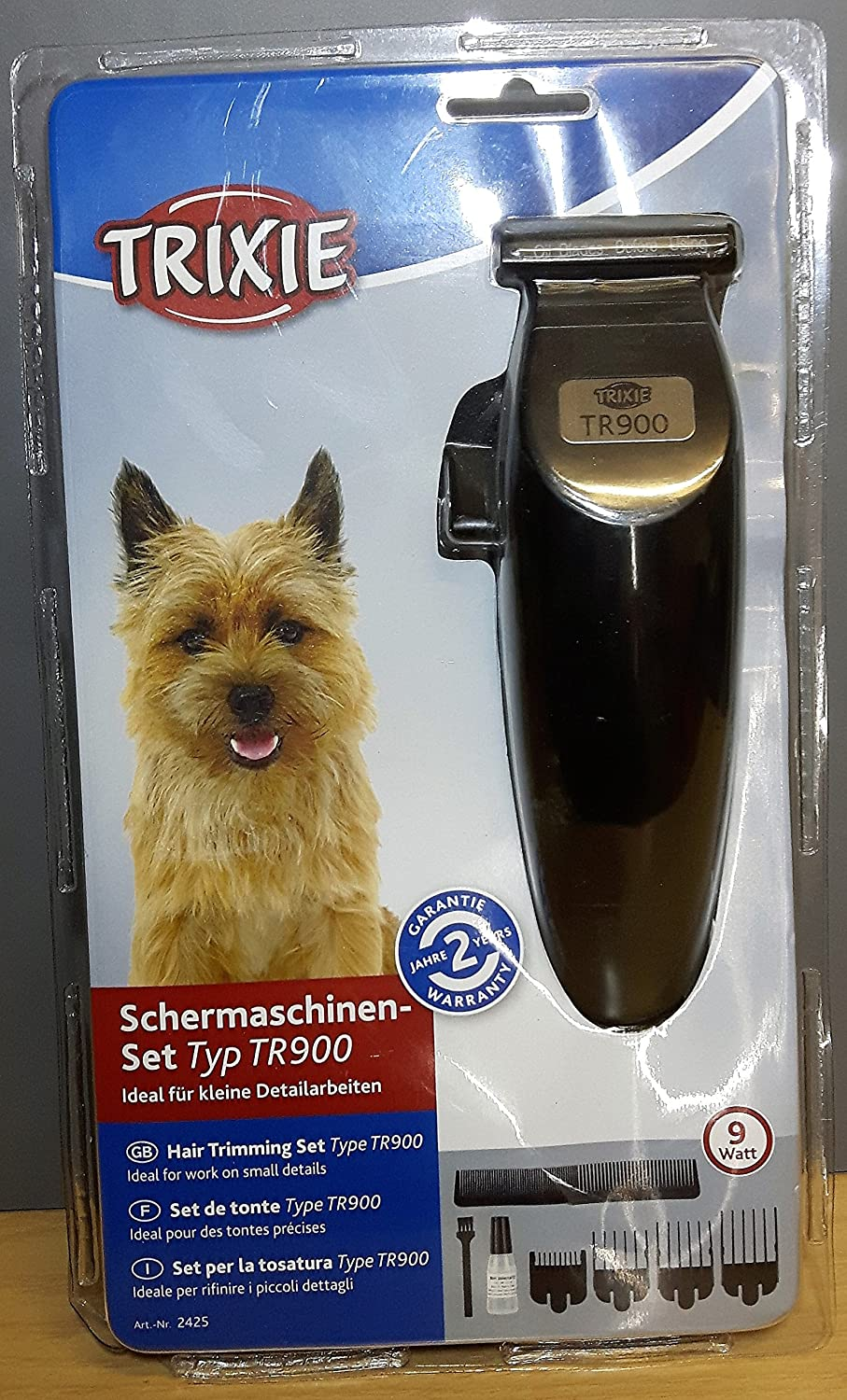 Trixie Set de Tonte TR 900 9 W Chiens 4011905024257