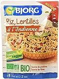 Bjorg Riz et Lentilles à l'Indienne Bio 220 g