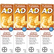A+D Original Diaper Ointment, 4 Ounce (Pack of 4)