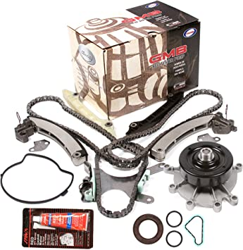 Timing Chain Kit Water Oil Pump w//o Gears Fit 02-10 Chrysler Dodge 3.7 SOHC