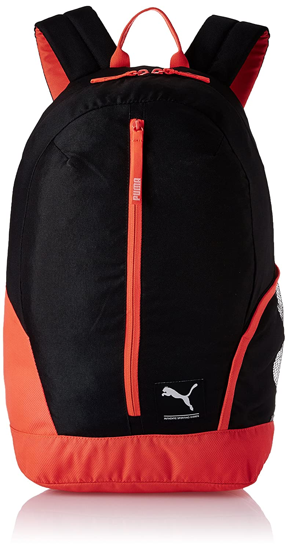 03c45cc104dd Puma 26 Ltrs Black-Red Blast Casual Backpack (7511703)