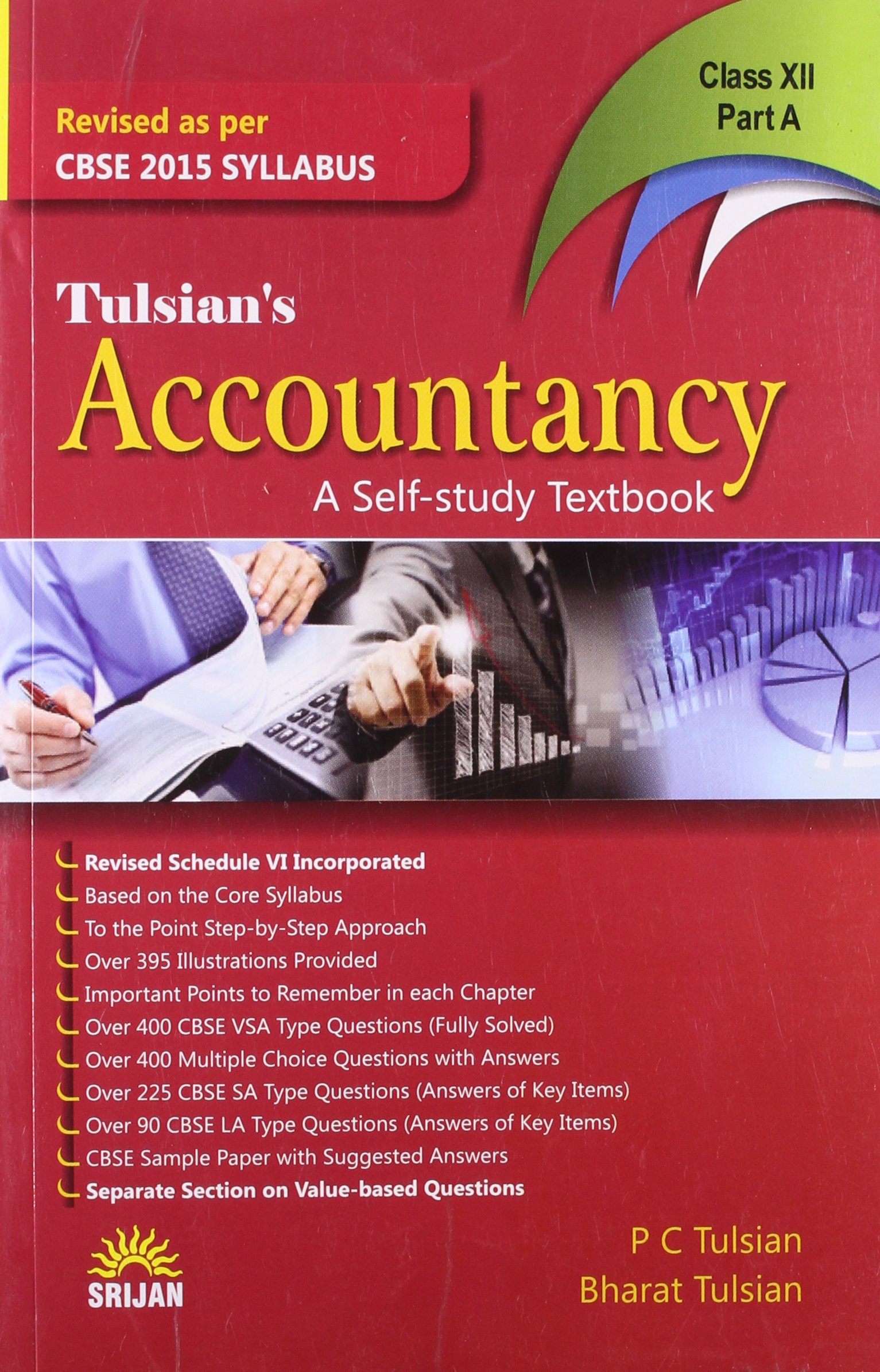 Accountancy: A Self-Study Textbook for Class XII - Part A and B Set of 2  Books: Amazon.in: P.C. Tulsian, Bharat Tuslian: Books