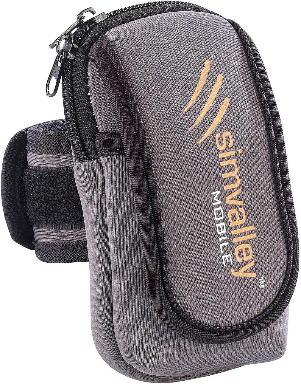 Simvalley - Funda de neopreno universal para móviles y smartphones ...