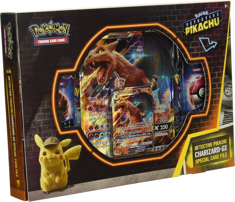 Amazon Com Pokemon Tcg Detective Charizard Gx Special Case File