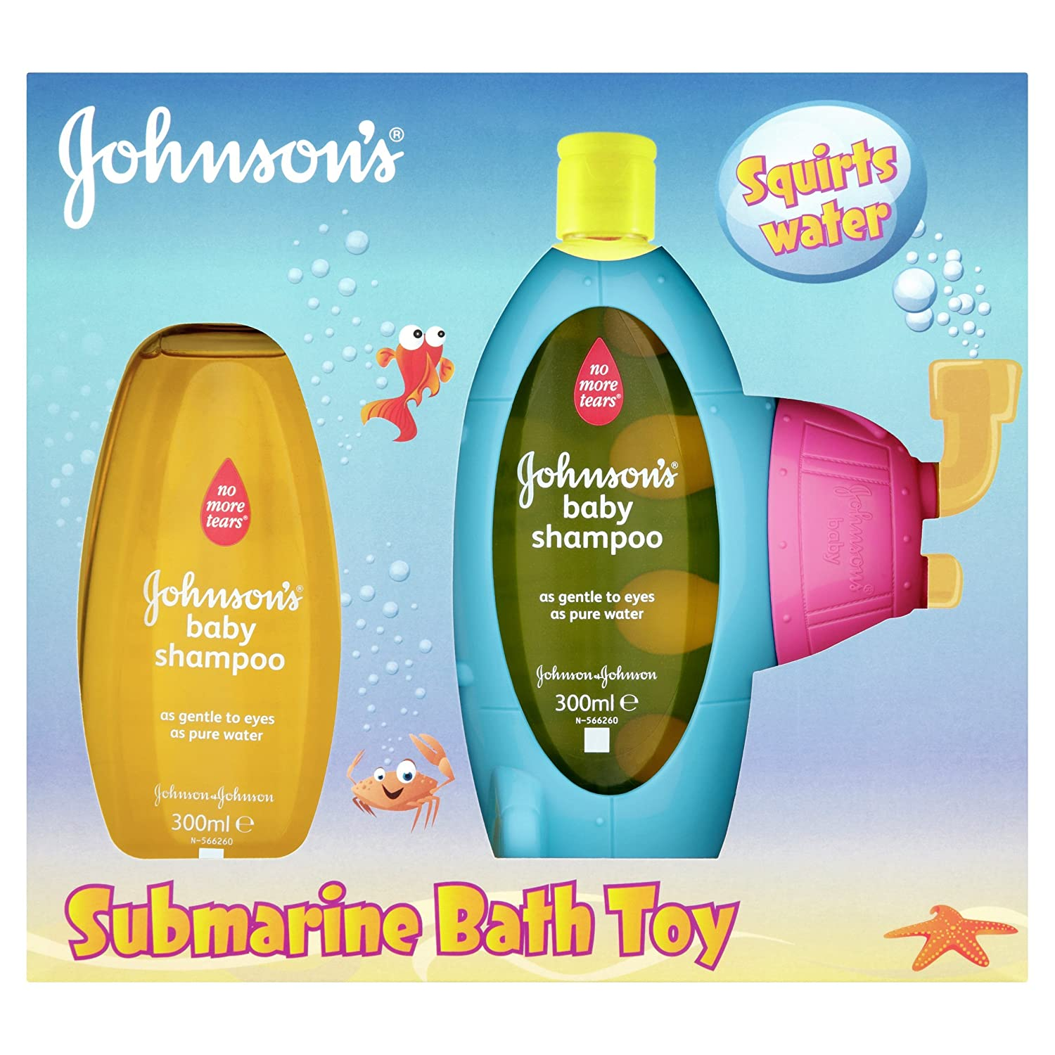 Johnson's Baby Shampoo (2 x 500ml) Johnson & Johnson 100731185