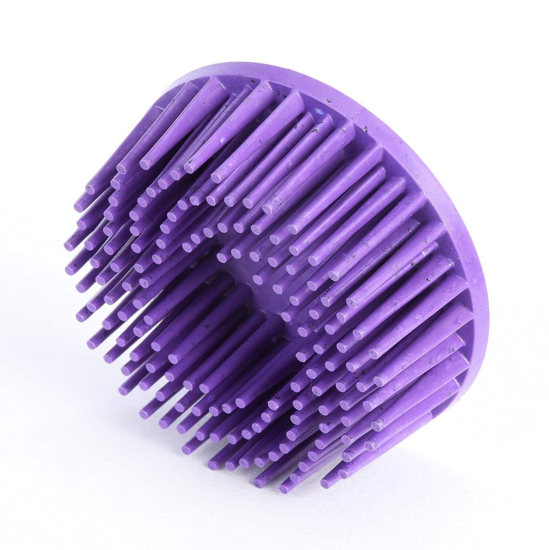 Roloc 2 Diameter 36 Grit Pack of 4 25000 rpm Scotch-Brite Ceramic Purple TM TM Body Mans Bristle Disc 3M RD-ZB