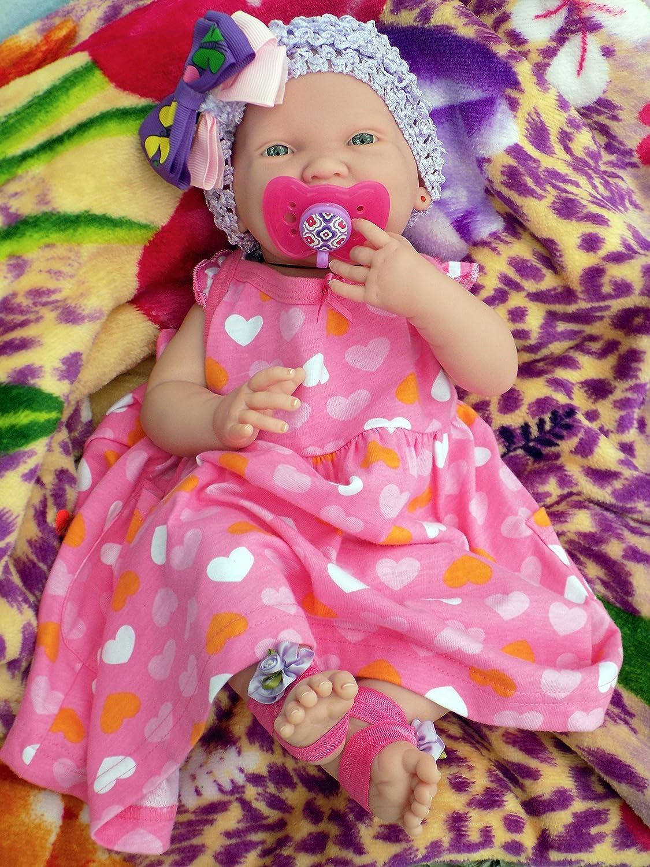 Amazon.com: Sonriente Baby Alive realista Berenguer 15 ...