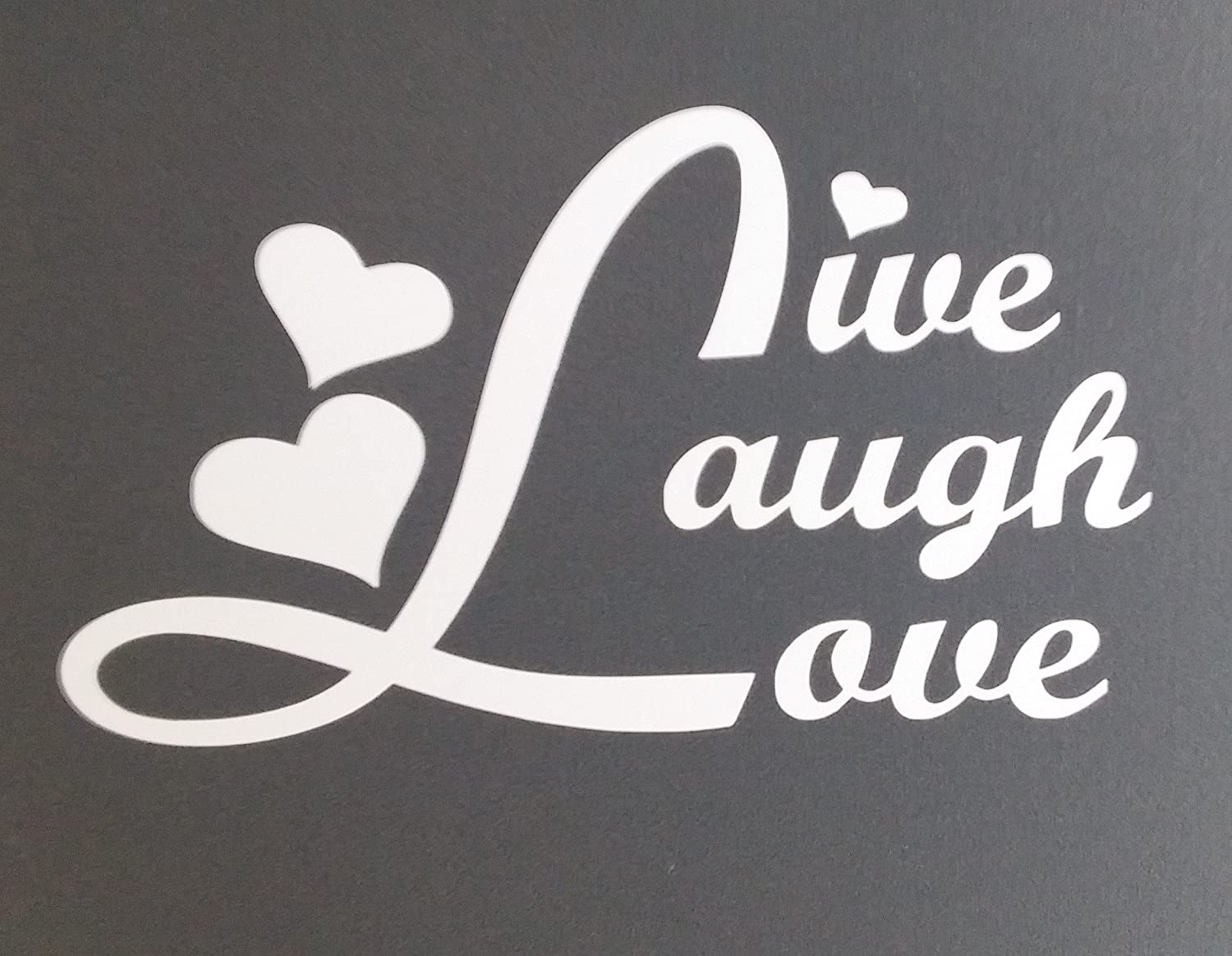 LIVE EVERY MOMENT V2 Vinyl Decal Sticker Window Car  JDM Inspirational Quote