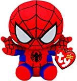 Ty Spiderman Plush, Red/blue, Regular