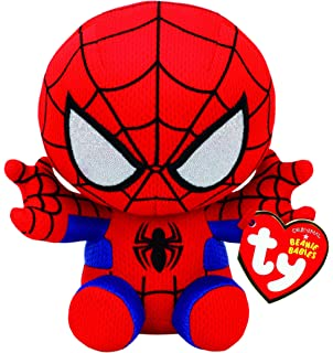 a2f0c092aed Amazon.com  Ty Beanie Ballz Spiderman Plush - Medium  Toys   Games